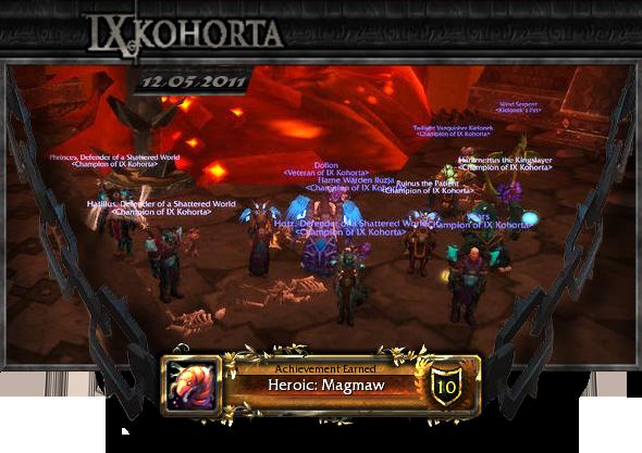 WoW Kohorta - Magmaw HC kill