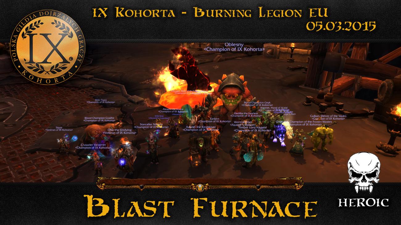 Grupa El - Blast Furnace HC