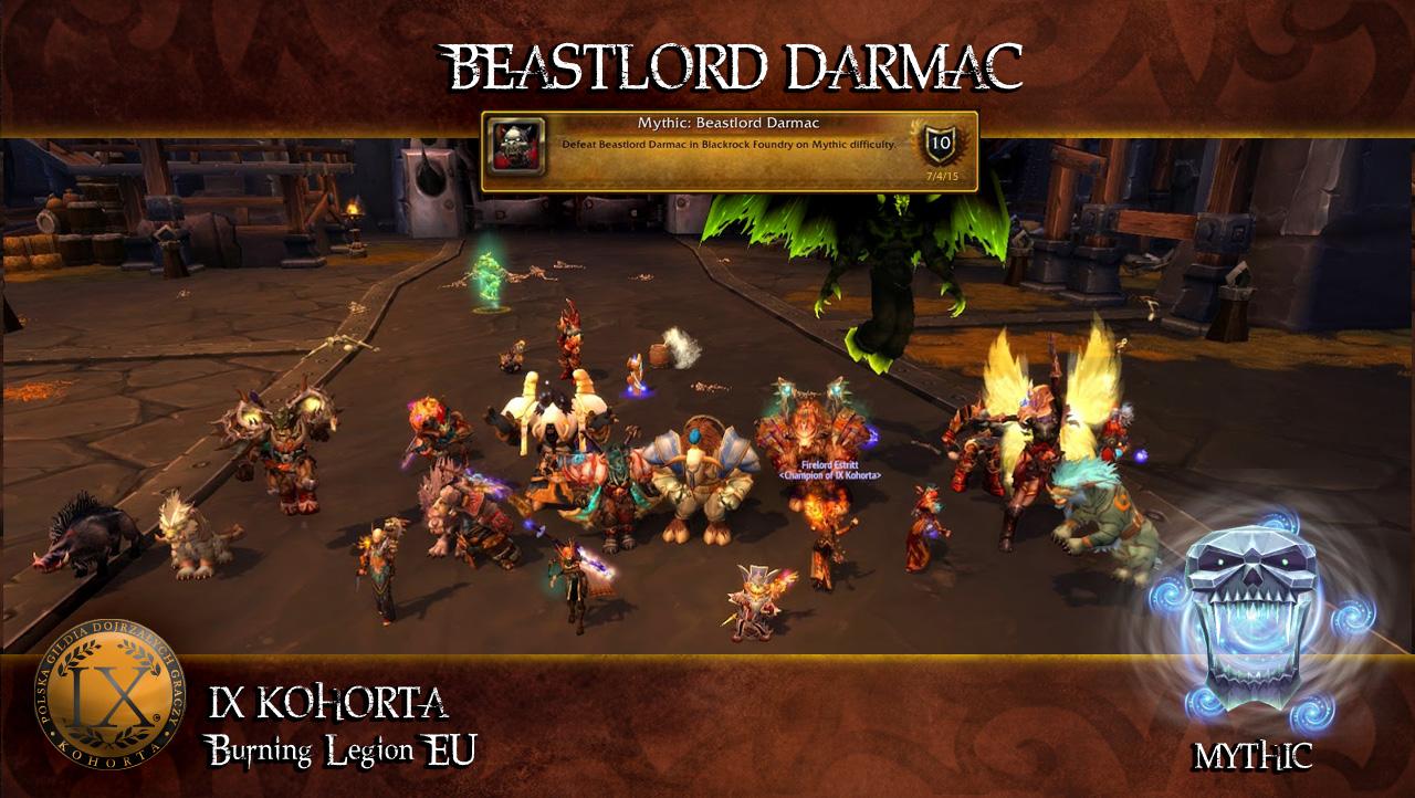 Załoga G - Beastlord Darmac Mythic