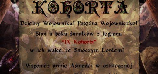 Sekcja Aion IX Kohorty rekrutuje!